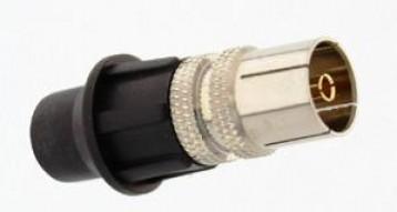 IEC 9.5mm Θηλυκό με CAP